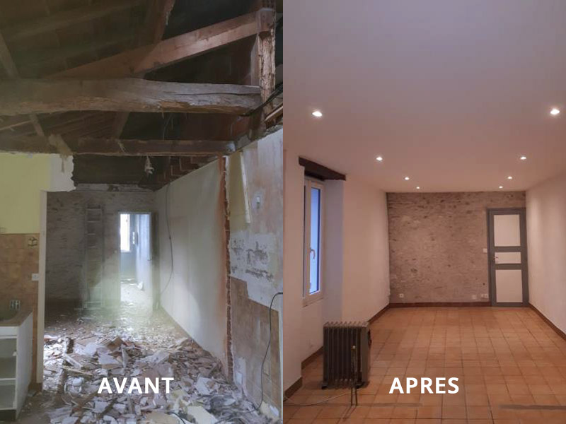 Renovation interieur maison